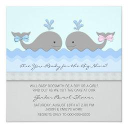 Whale Gender Reveal
