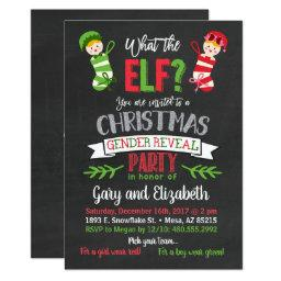 What The Elf Christmas Gender Reveal
