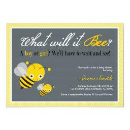 What will it Bee? Baby Shower