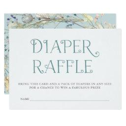Wildflower Wreath |  Diaper Raffle