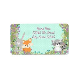 Woodland  Address Labels
