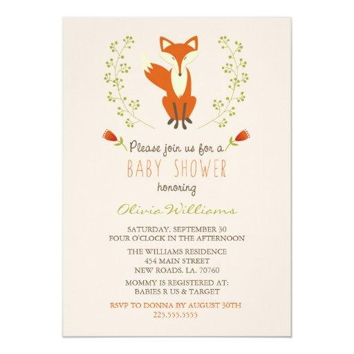 woodland baby shower invitations | babyshowerinvitations4u, Baby shower invitations