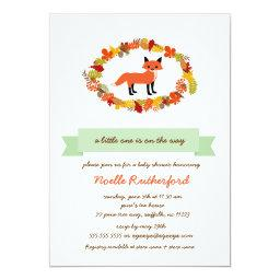 Woodland Fox  Invites / bright forest
