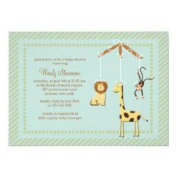 Zoo Mobile Baby Shower