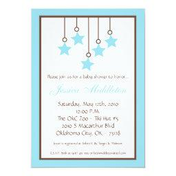 Blue Star Mobile Baby Shower