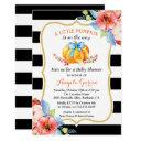 A Little Pumpkin Is On The Way | Boy Baby Shower Invitations