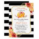 A Little Pumpkin Is On The Way | Girl Baby Shower