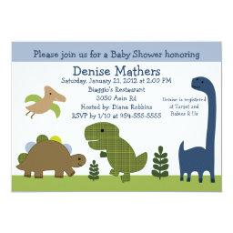 Adorable Dino/Dinosaurs Baby Shower