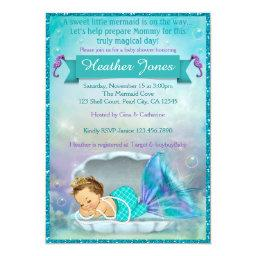 Adorable Mermaid Baby Shower  #130
