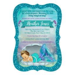 Adorable Mermaid Baby Shower  130 Light