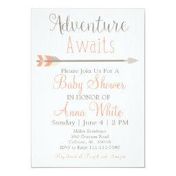 Adventure Awaits Baby Shower