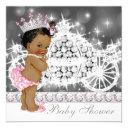 African American Ethnic Princess Girl Baby Shower