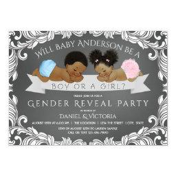 African American Gender Reveal Shower