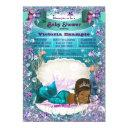 African American Mermaid Princess Baby Shower