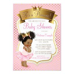 African American Princess Baby Shower