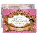 African Princess Royal Baby Shower Invitation