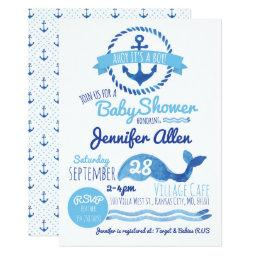 Ahoy It's a Boy! Baby Shower