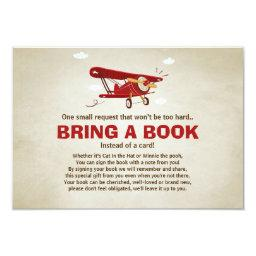 Airplane Baby Shower Bring a book Adventure Travel