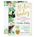 Aloha Baby Shower  Tropical Baby Shower