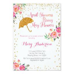 April baby showers