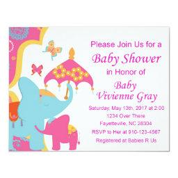 Asian Elephant Baby Shower