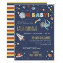 Astro Sloth - Oh Baby! Space Baby Shower Invitation