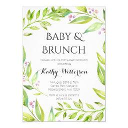 Baby and Brunch Botanical Shower
