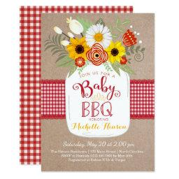 Baby BBQ Baby Shower , BabyQ Invite