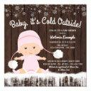 Baby Its Cold Outside Girl Baby Shower