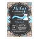 Baby Its Cold Outside Polar Bear Boy Baby Shower Invitations