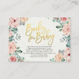 Books for Baby / Bring a book Request Enclosure