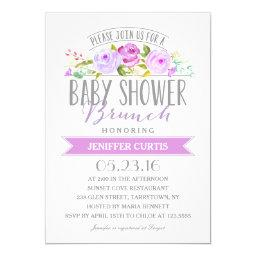 Baby Shower Brunch | Baby Shower