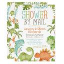Baby Shower By Mail Dinosaur Invitation