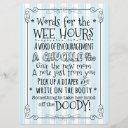 Baby Shower Diaper Activity Invitations Sign