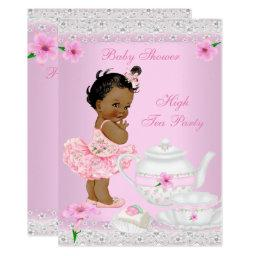 Girl Pink High Tea Party Ethnic