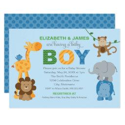 Baby Shower  | Jungle Animals for Boy