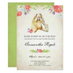 Baby Shower Invite ~ Bunny