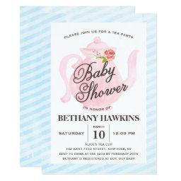 Baby Shower Tea Party | Baby Shower