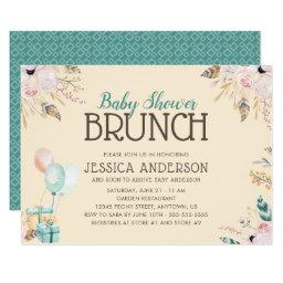 Balloons and Gifts | Baby Shower Brunch