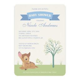 Bambi | Boy Baby Shower