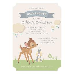 Bambi | Neutral Baby Shower