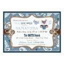 Bandanna Print Cowboy Baby Shower Invitation