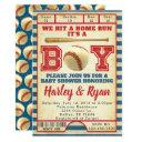 Baseball Baby Shower Invitation Invite