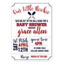 Baseball Baby Shower Invite