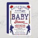 Baseball Theme Baby Shower, Baby Boy Shower Invitation