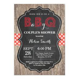 Bbq Baby Shower Invitation Baby Q Backyard Bash