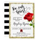 Be Our Guest Baby Shower Invitation