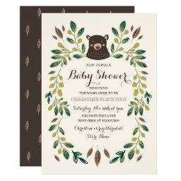 Bear Cub Baby Shower