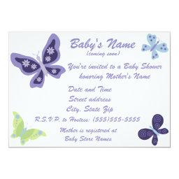 Beautiful Butterfly Baby Shower