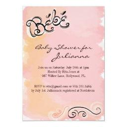 Bebe - French Inspired Baby Shower